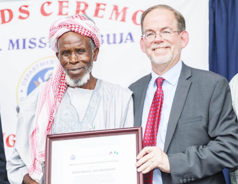 CAN honours Plateau Imam who saved Christians from attacks