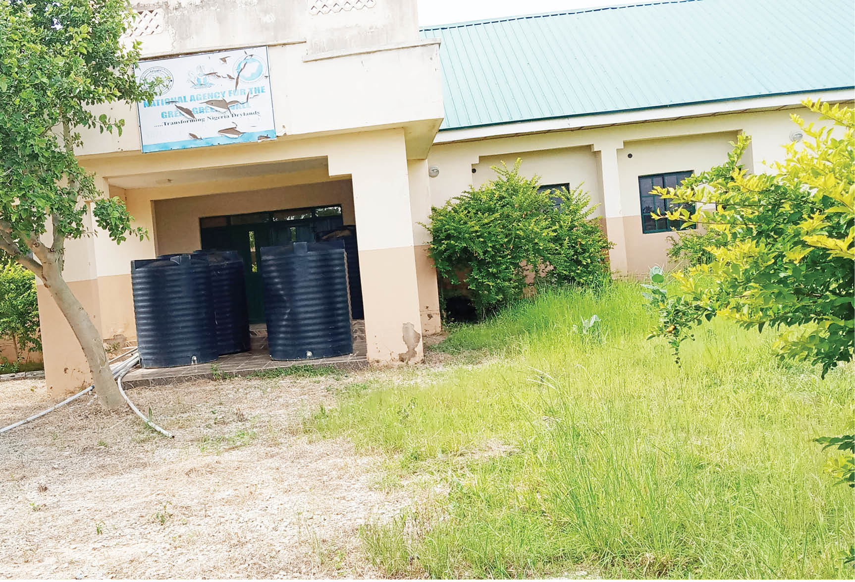 Abandoned GGW Skills Acquisation Centre in Chinade town in Bauchi State