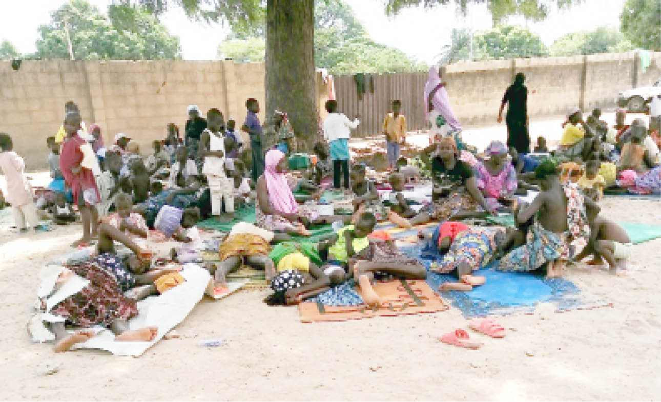 More people who fled homes due to insecurity take refuge at a camp in Minna