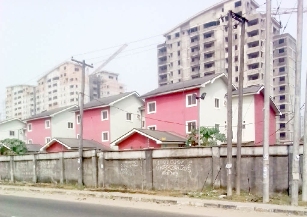 An estate in Port Harcourt, Rivers State