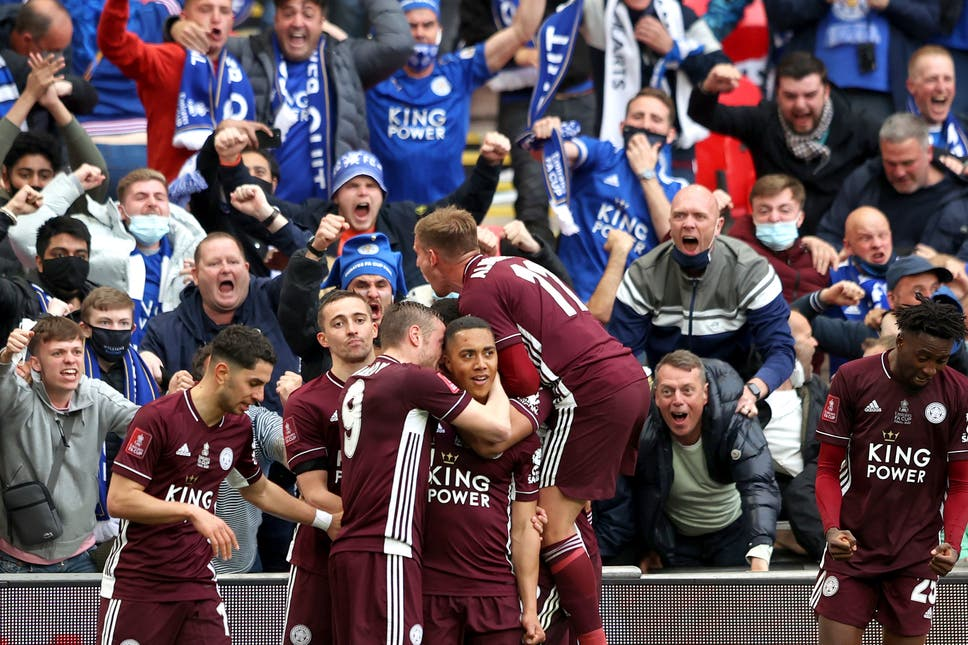 Ndidi, Iheancho's Leicester City win first FA Cup after Tielemans' screamer