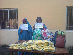 NDLEA arrests 2 ladies for 'trafficking illicit drugs'
