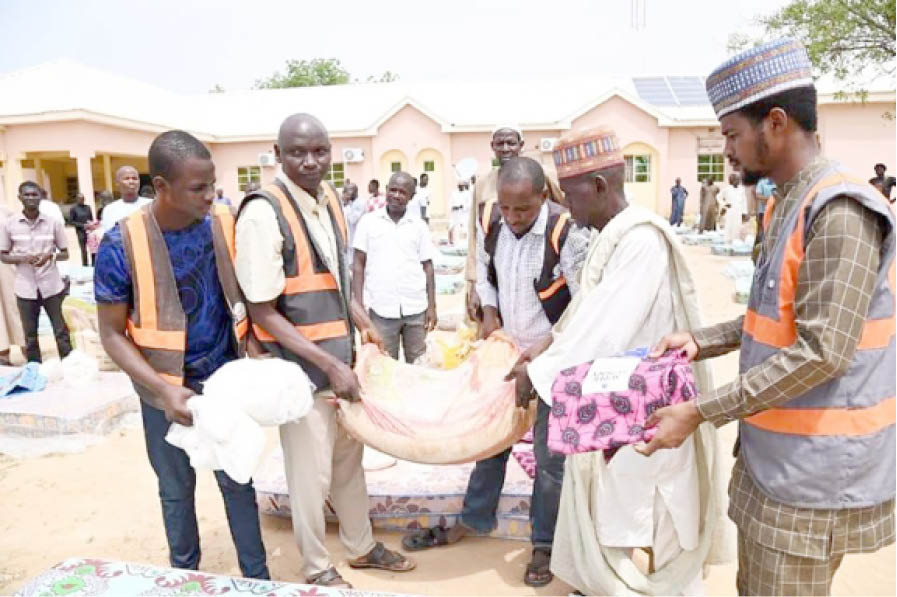 File pictures of Adamami during the 2020 flood disaster in Bauchi