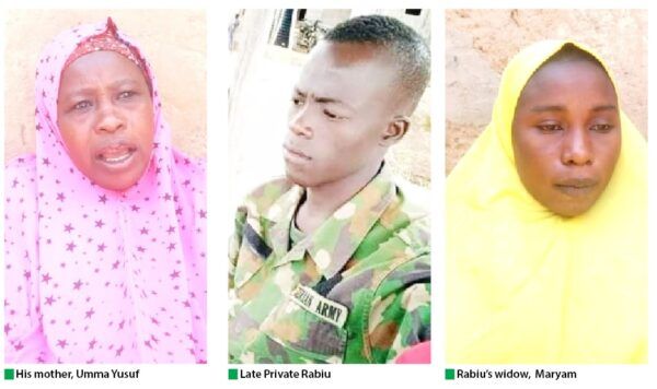 Family, friends pay tribute to soldier killed battling kidnappers at Kaduna school